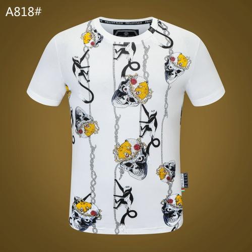 Philipp Plein PP T-Shirts Short Sleeved O-Neck For Men #812354