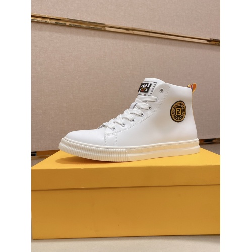 Fendi High Tops Casual Shoes For Men #812374