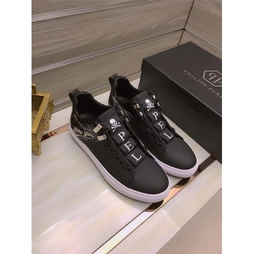 Philipp Plein PP Casual Shoes For Men #812513 $80.00, Wholesale Replica Philipp Plein Shoes