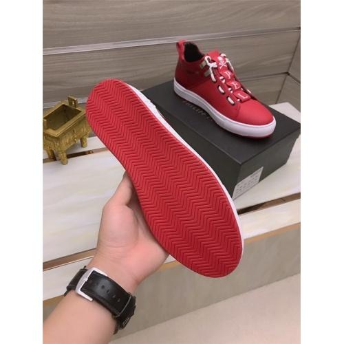 Replica Philipp Plein PP Casual Shoes For Men #812514 $80.00 USD for Wholesale