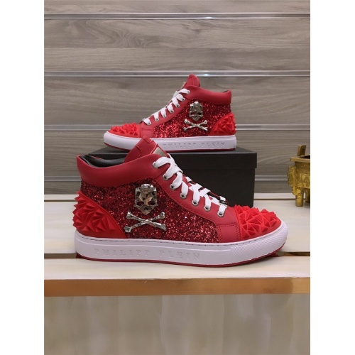 Philipp Plein PP High Tops Shoes For Men #812516