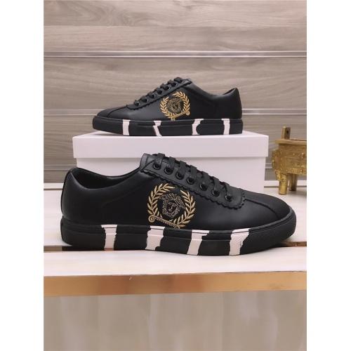Versace Casual Shoes For Men #812528 $76.00 USD, Wholesale Replica Versace Casual Shoes