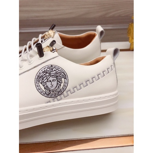 Replica Versace Casual Shoes For Men #812530 $76.00 USD for Wholesale