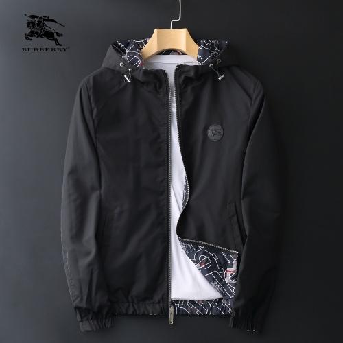 Burberry Jackets Long Sleeved Zipper For Men #812591