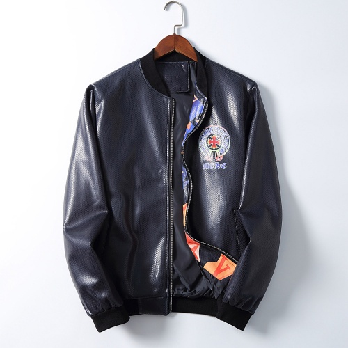 Chrome Hearts Jackets Long Sleeved Zipper For Men #812602