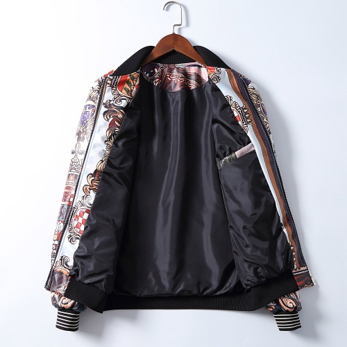 Replica Dolce & Gabbana D&G Jackets Long Sleeved Zipper For Men #812617 $68.00 USD for Wholesale
