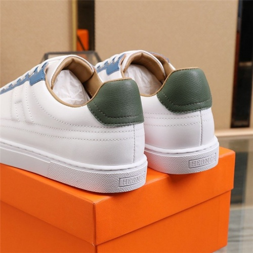 Replica Hermes Casual Shoes For Men #812621 $80.00 USD for Wholesale