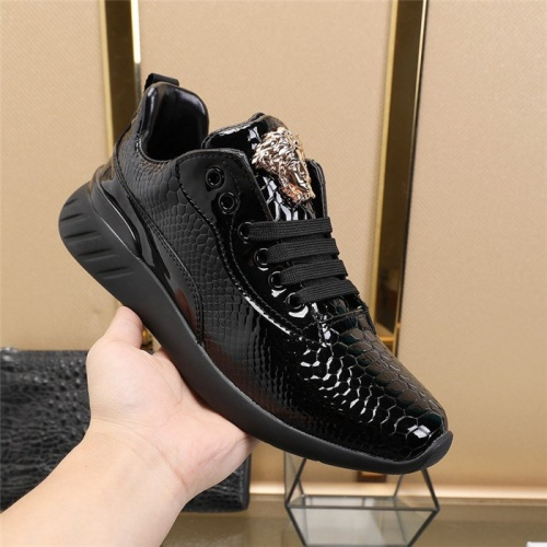 Replica Versace Casual Shoes For Men #812631 $80.00 USD for Wholesale