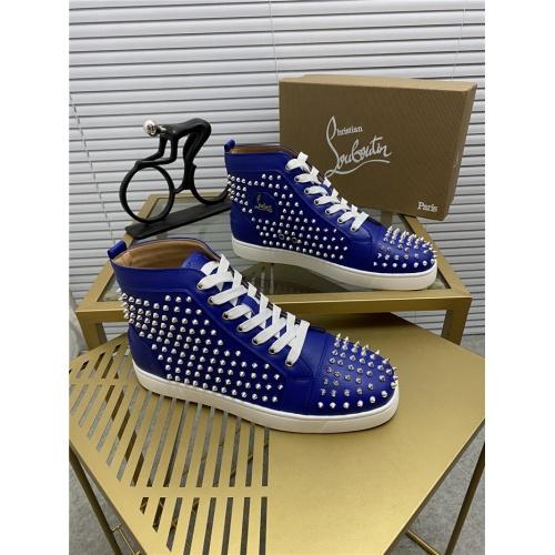 Christian Louboutin High Tops Shoes For Men #812822