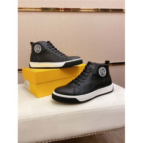 Fendi High Tops Casual Shoes For Men #812830