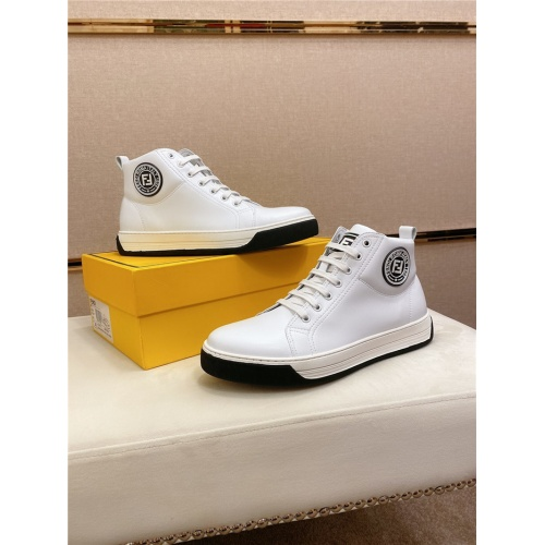 Fendi High Tops Casual Shoes For Men #812831