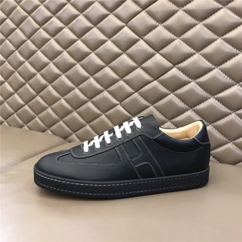 Replica Hermes Casual Shoes For Men #812839 $76.00 USD for Wholesale