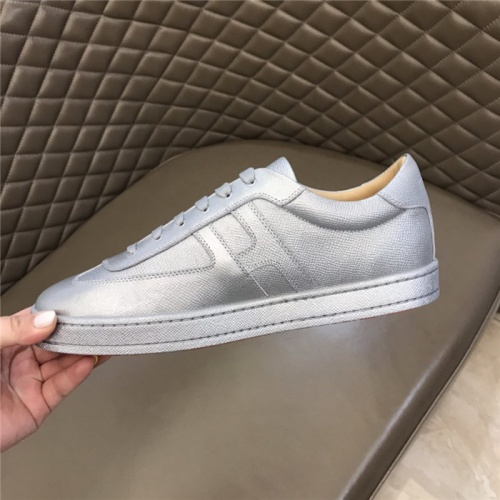 Replica Hermes Casual Shoes For Men #812840 $76.00 USD for Wholesale