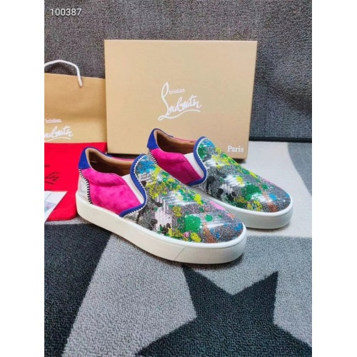 Christian Louboutin CL Casual Shoes For Men #812842