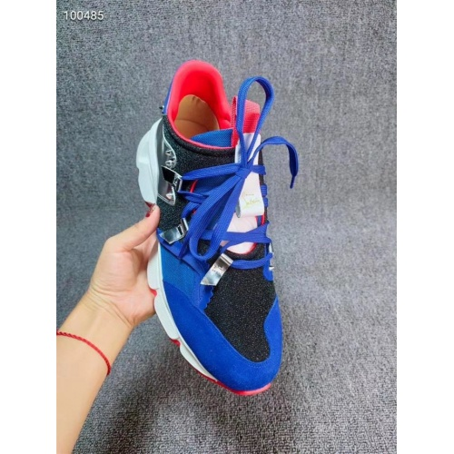 Replica Christian Louboutin CL Casual Shoes For Men #812848 $102.00 USD for Wholesale