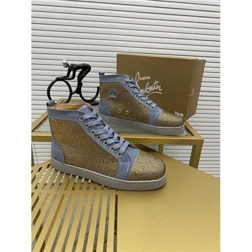 Christian Louboutin High Tops Shoes For Men #812852