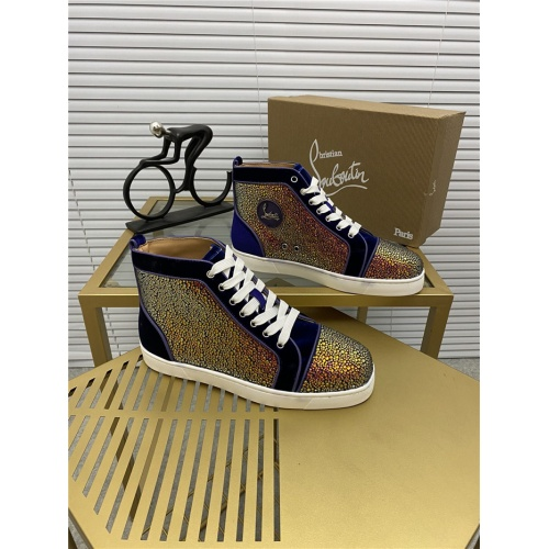 Christian Louboutin High Tops Shoes For Women #812866