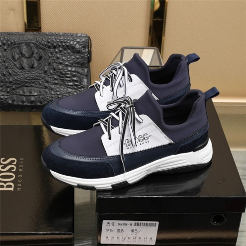 Replica Boss Casual Shoes For Men #812917 $80.00 USD for Wholesale
