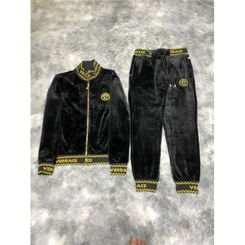 Versace Tracksuits Long Sleeved Zipper For Men #812997
