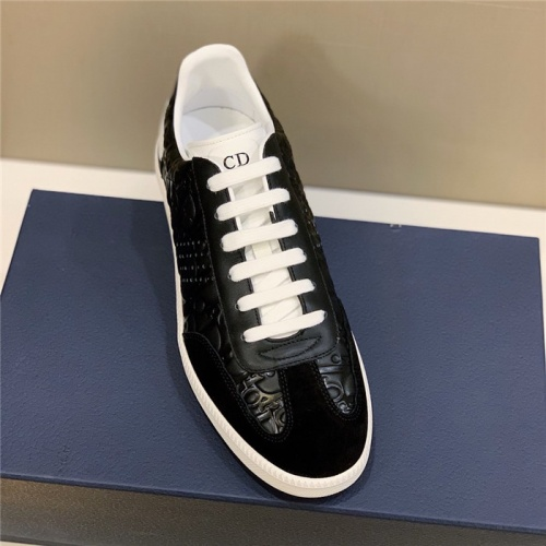 Replica Christian Dior Casual Shoes For Men #813045 $72.00 USD for Wholesale