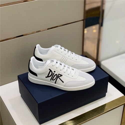 Christian Dior Casual Shoes For Men #813048 $72.00 USD, Wholesale Replica Christian Dior Casual Shoes