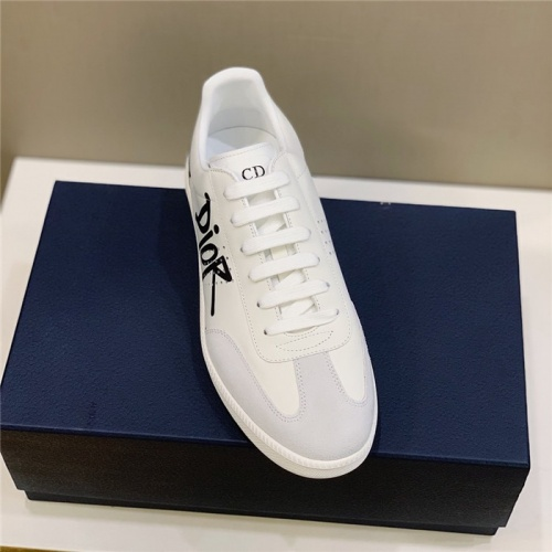 Replica Christian Dior Casual Shoes For Men #813048 $72.00 USD for Wholesale