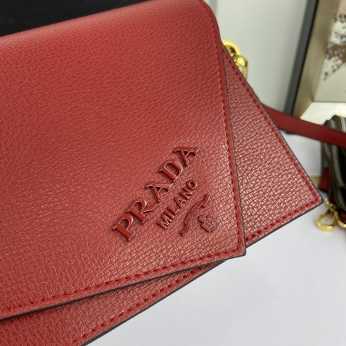 Replica Prada AAA Quality Messeger Bags For Women #813121 $100.00 USD for Wholesale
