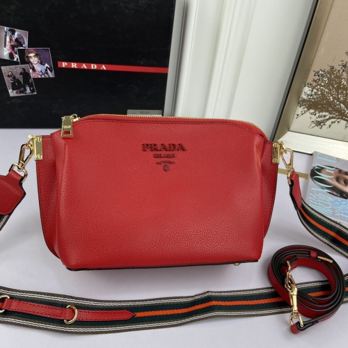 Prada AAA Quality Messeger Bags For Women #813136