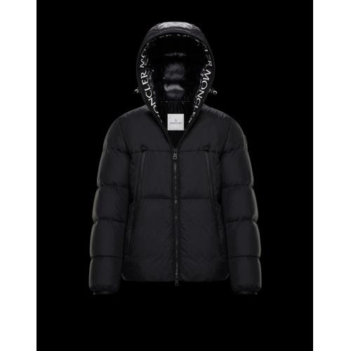 Moncler Down Feather Coat Long Sleeved Zipper For Men #813253