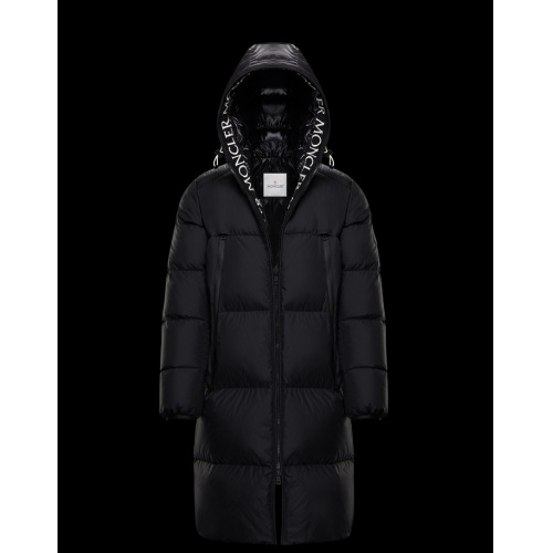 Moncler Down Feather Coat Long Sleeved Zipper For Men #813255