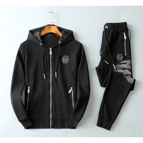 Philipp Plein PP Tracksuits Long Sleeved Zipper For Men #813258