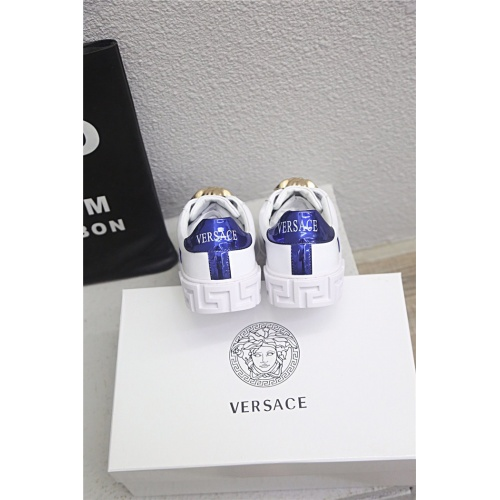Replica Versace Casual Shoes For Men #813274 $76.00 USD for Wholesale