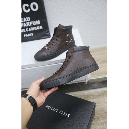 Philipp Plein PP High Tops Shoes For Men #813297