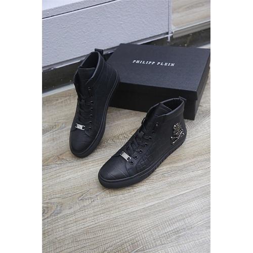 Philipp Plein PP High Tops Shoes For Men #813298