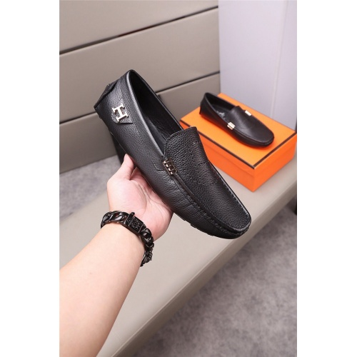Replica Hermes Casual Shoes For Men #813320 $72.00 USD for Wholesale