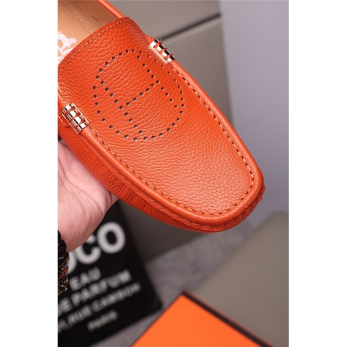 Replica Hermes Casual Shoes For Men #813321 $72.00 USD for Wholesale