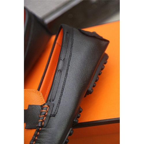 Replica Hermes Casual Shoes For Men #813323 $76.00 USD for Wholesale