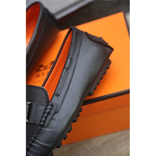 Replica Hermes Casual Shoes For Men #813328 $76.00 USD for Wholesale