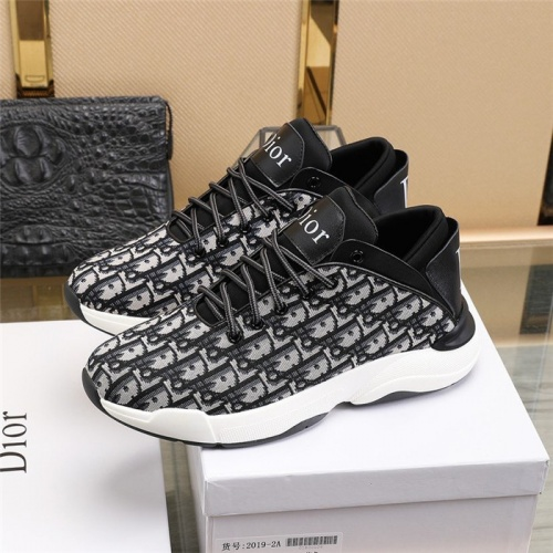 Replica Christian Dior Casual Shoes For Men #813340 $80.00 USD for Wholesale