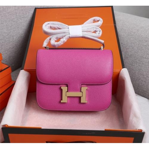 Hermes AAA Quality Messenger Bags For Women #813402 $112.00, Wholesale Replica Hermes AAA Quality Messenger Bags