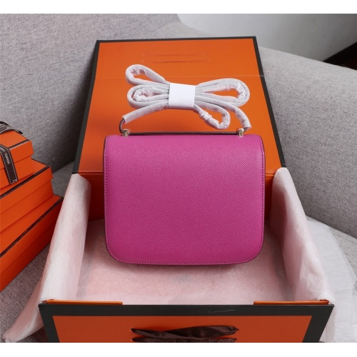 Replica Hermes AAA Quality Messenger Bags For Women #813402 $112.00 USD for Wholesale