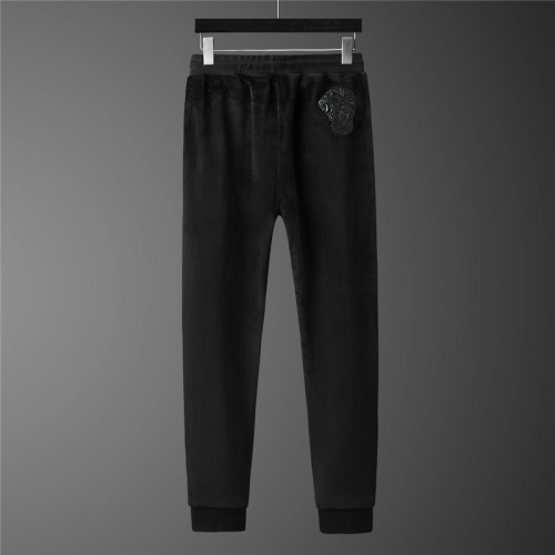 Replica Versace Tracksuits Long Sleeved Zipper For Men #813456 $98.00 USD for Wholesale