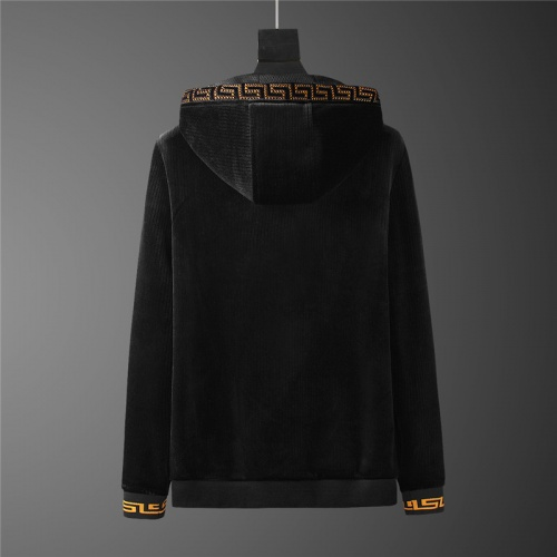 Replica Versace Tracksuits Long Sleeved Zipper For Men #813463 $98.00 USD for Wholesale