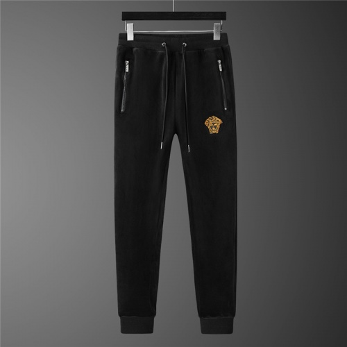 Replica Versace Tracksuits Long Sleeved Zipper For Men #813467 $98.00 USD for Wholesale