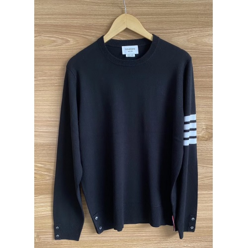 Thom Browne TB Sweaters Long Sleeved O-Neck For Men #813589