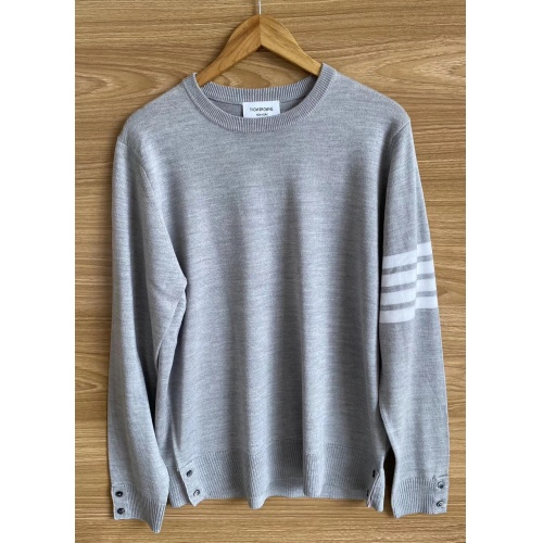 Thom Browne TB Sweaters Long Sleeved O-Neck For Men #813590