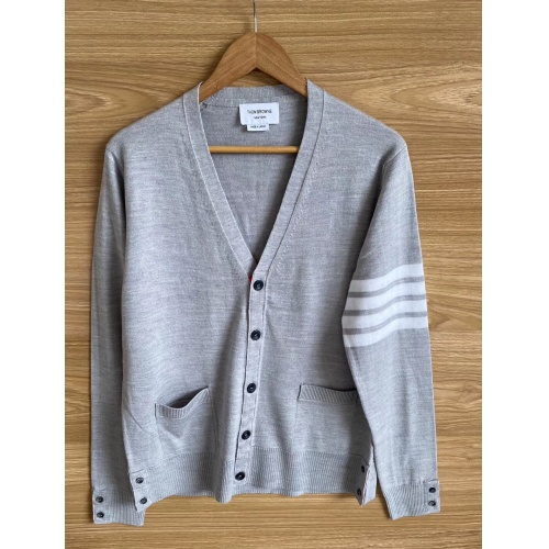 Thom Browne TB Sweaters Long Sleeved O-Neck For Men #813591