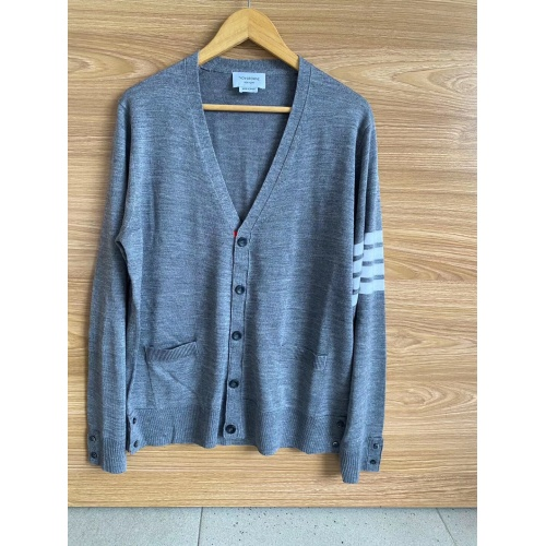 Thom Browne TB Sweaters Long Sleeved O-Neck For Men #813592