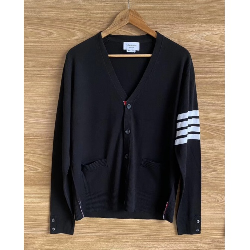 Thom Browne TB Sweaters Long Sleeved O-Neck For Men #813593