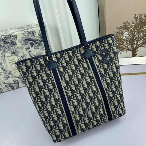 Replica Christian Dior AAA Tote-Handbags For Women #813605 $82.00 USD for Wholesale
